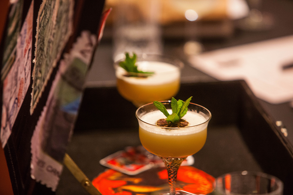 Clandestino cocktail by Darras Xaris for Bacardi Legacy 2015
